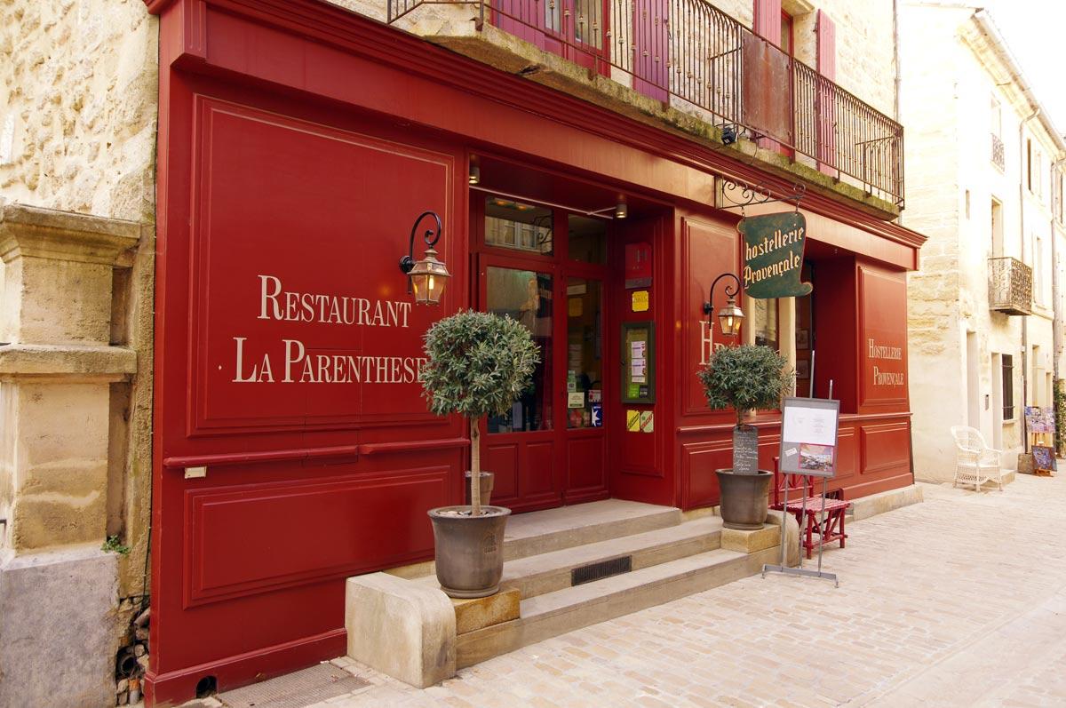 Restaurant La Parenthèse Uzès
